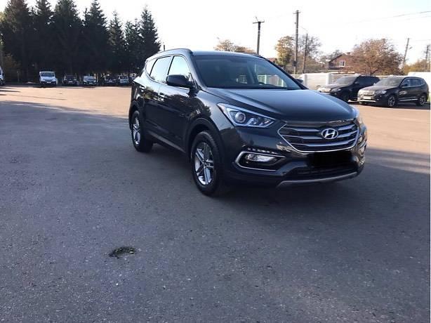 Hyundai Santa FE 2017 года