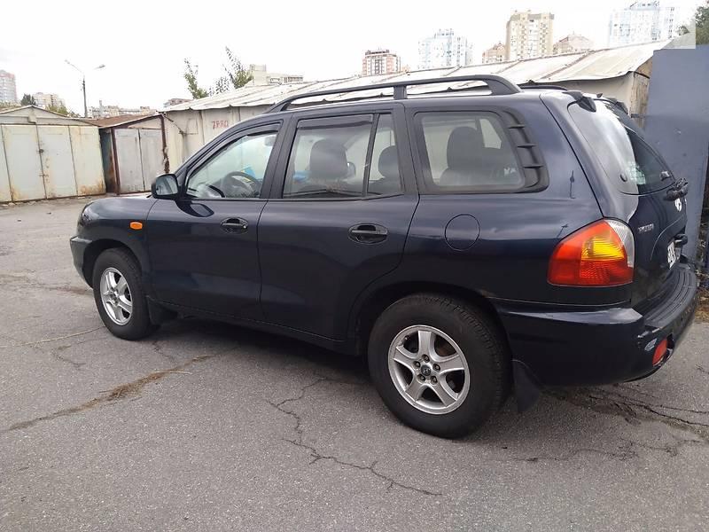 Hyundai Santa FE 2004 года