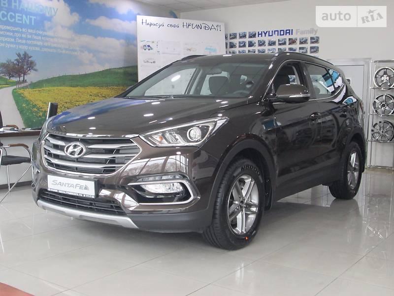 Hyundai Santa FE 2017 року