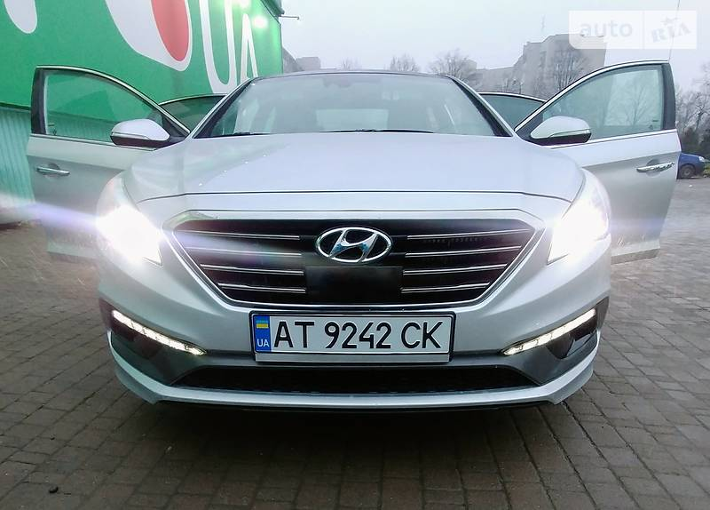 Hyundai Sonata 2015 года