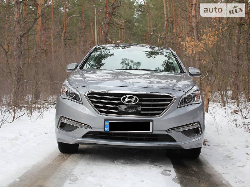 Hyundai Sonata 2015 року