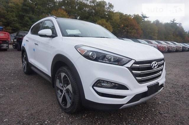 Hyundai Tucson 2017 року