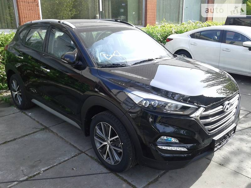 Hyundai Tucson 2017 года