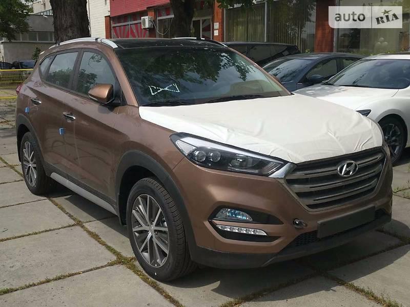 Hyundai Tucson 2018 року