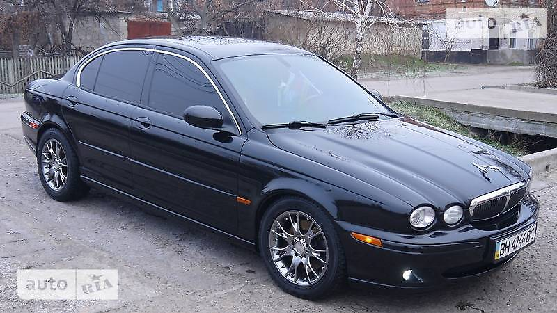 Jaguar X-Type 2003 года
