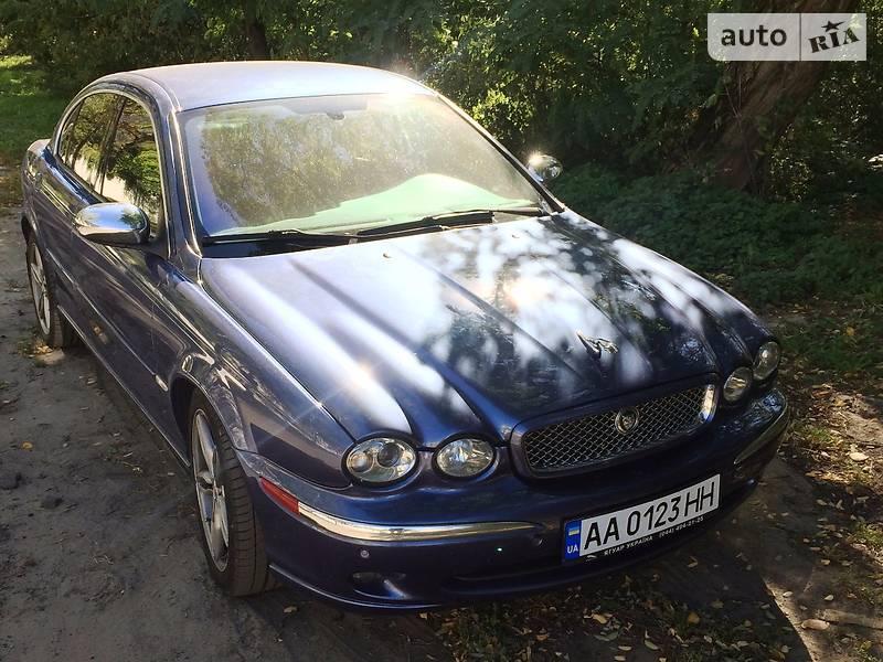 Jaguar X-Type 2004 года