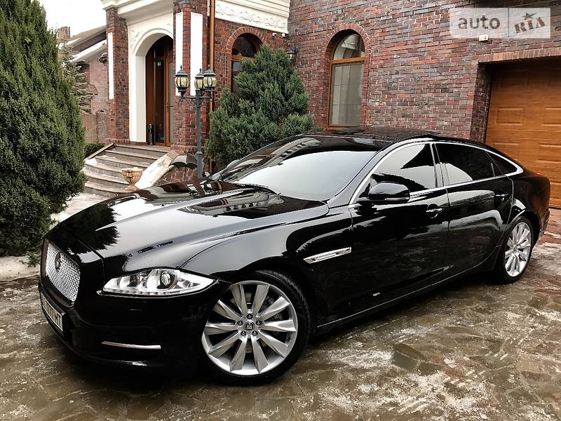 Jaguar XJL 2011 года