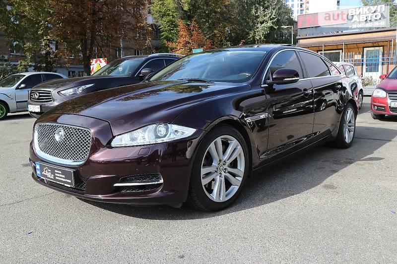 Jaguar XJL 2012 года
