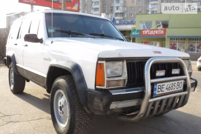 Jeep Cherokee 1989 року