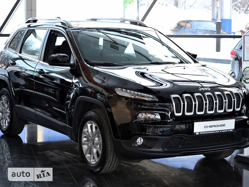 Jeep Cherokee 2017 года