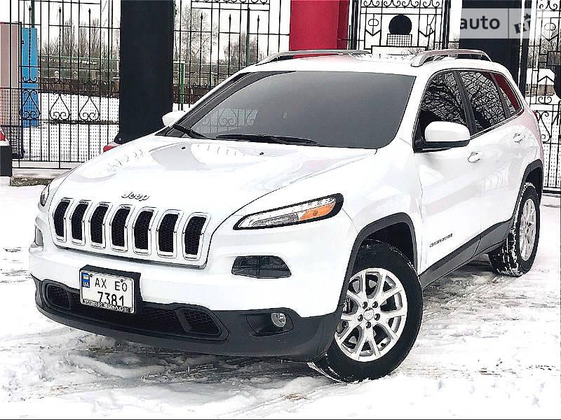 Jeep Cherokee 2016 года
