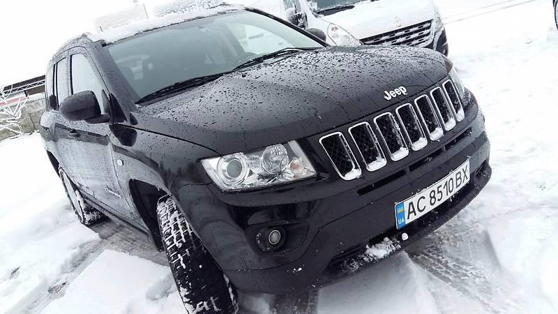 Jeep Compass 2012 року