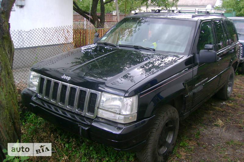 Jeep Grand Cherokee 1996 року