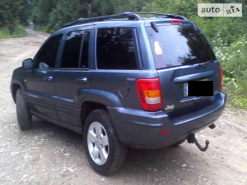 Jeep Grand Cherokee 2001 року