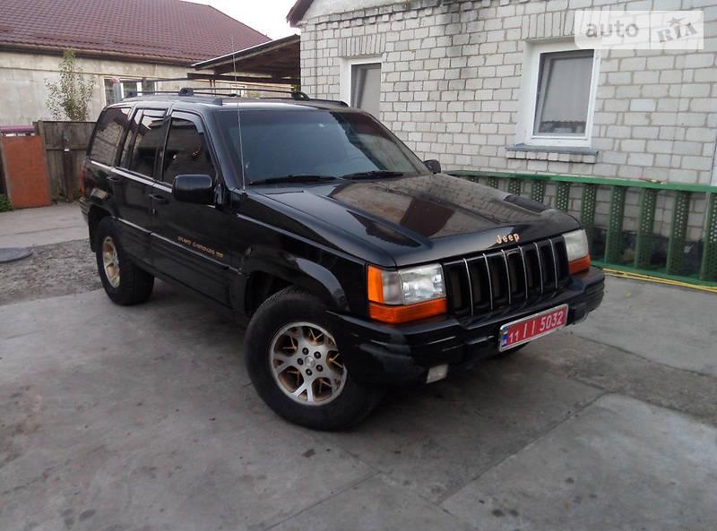 Jeep Grand Cherokee 1998 року