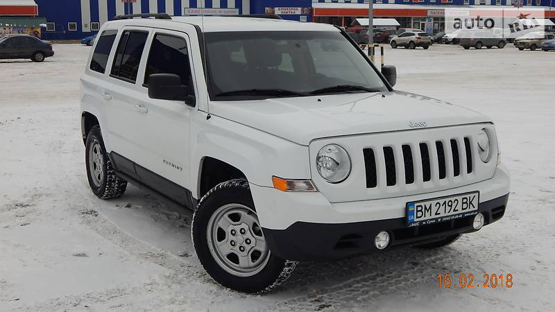 Jeep Patriot 2015 року