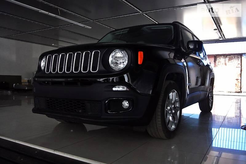 Jeep Renegade 2015 года