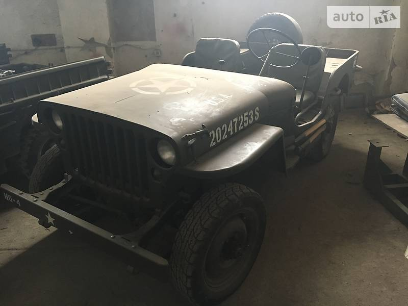 Jeep Willys 1942 года