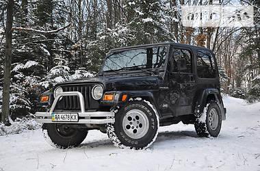Jeep Wrangler 2.5i 2002