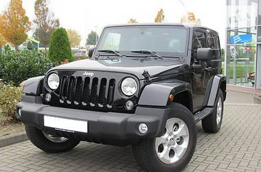 Jeep Wrangler Unlimited Sahara 2.8 2016