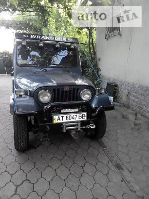 Jeep Wrangler 1991 года