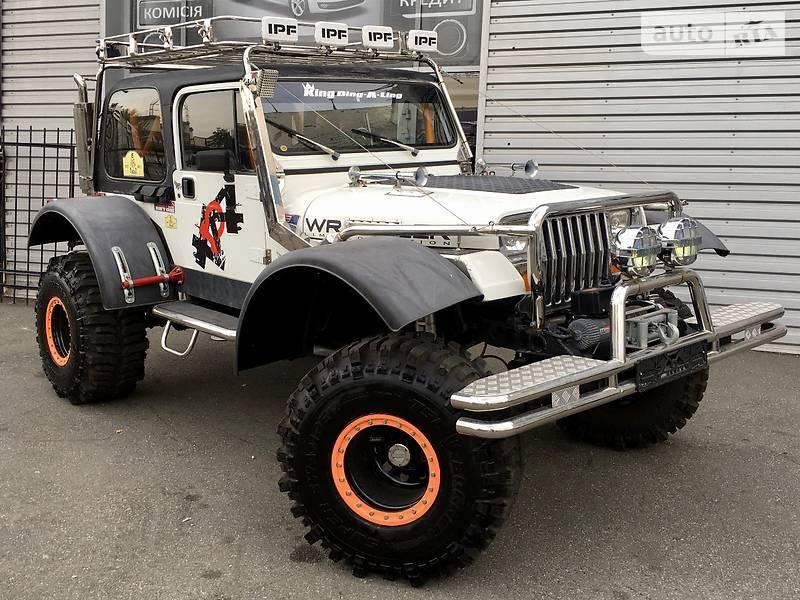 Jeep Wrangler 1993 року