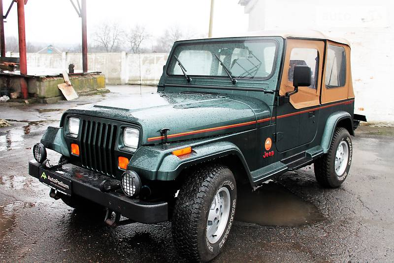 Jeep Wrangler 1994 року