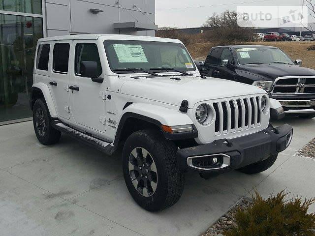 Jeep Wrangler 2018 года