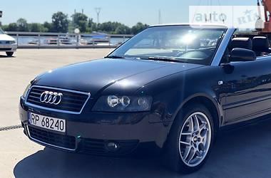 Характеристики Audi A4 Кабриолет