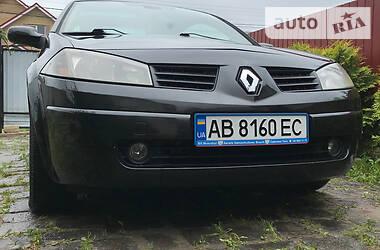 Характеристики Renault Megane Кабриолет