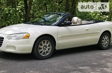 Характеристики Chrysler Sebring Кабриолет