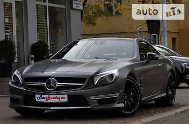 Характеристики Mercedes-Benz SL 500 Кабриолет