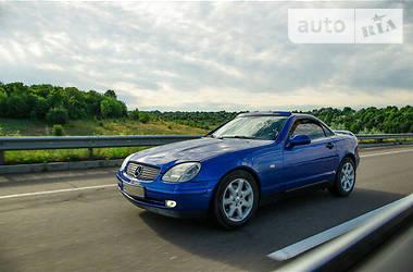 Характеристики Mercedes-Benz SLK 200 Кабриолет