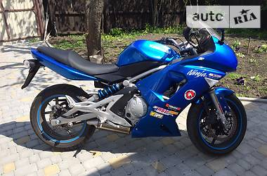 Kawasaki EX 650F PLAZMA BLUE 2006