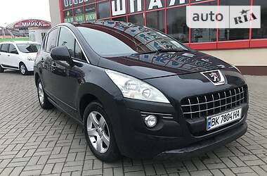 Характеристики Peugeot 3008 Хетчбек