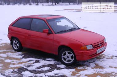 Характеристики Opel Astra F Хэтчбек