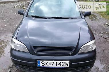 Характеристики Opel Astra G Хэтчбек