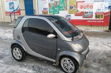Характеристики Smart City Хэтчбек