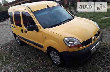 Характеристики Renault Kangoo пасс. Хэтчбек