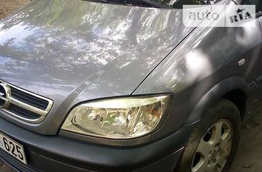 Характеристики Opel Zafira Хэтчбек