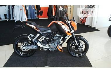 KTM 200 duke 2014