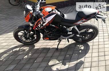 KTM Duke  2013