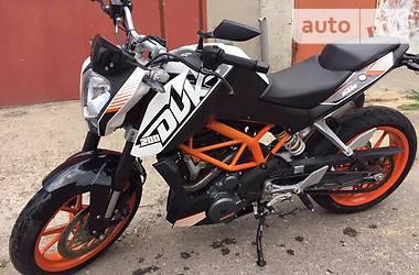 KTM Duke 390cc 2014