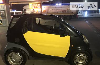 Характеристики Smart City Купе