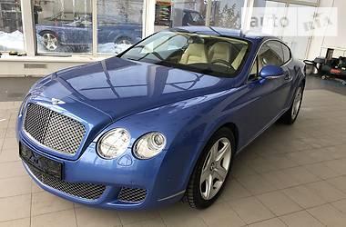 Характеристики Bentley Continental GT Купе