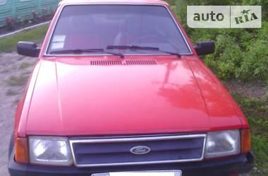 Характеристики Ford Escort Купе