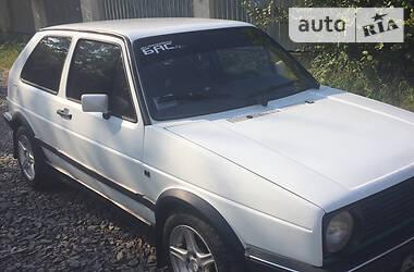 Характеристики Volkswagen Golf II Купе