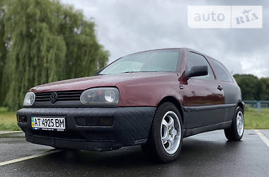 Характеристики Volkswagen Golf III Купе