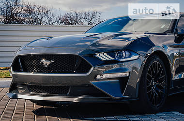 Характеристики Ford Mustang GT Купе
