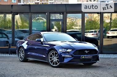 Характеристики Ford Mustang Купе